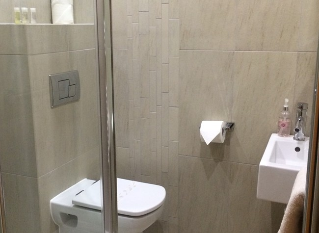Ensuite shower rooms
